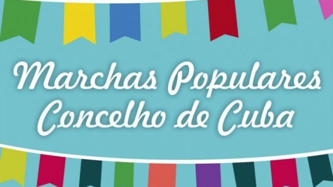 Marchas populares desfilam pelo concelho de Cuba