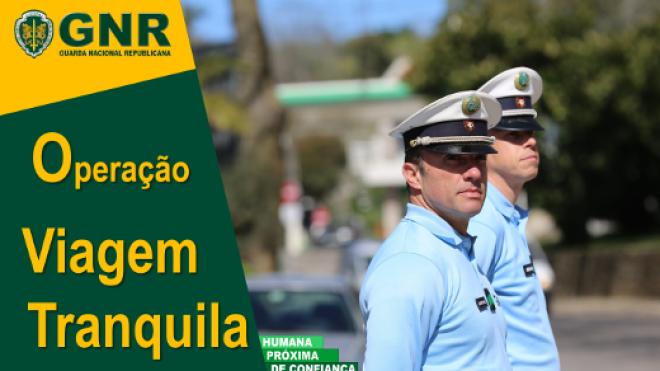 """GNR promove Operação """"Viagem Tranquila"""""""