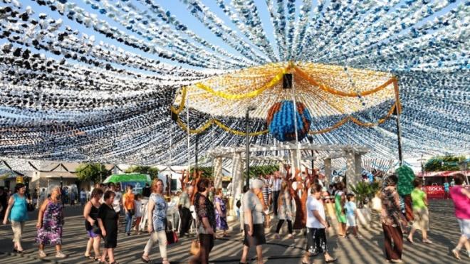 Último dia das Festas de Santa Maria em Ermidas-Sado