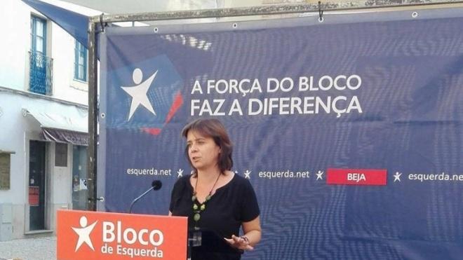 Catarina Martins diz que Beja precisa de novas soluções