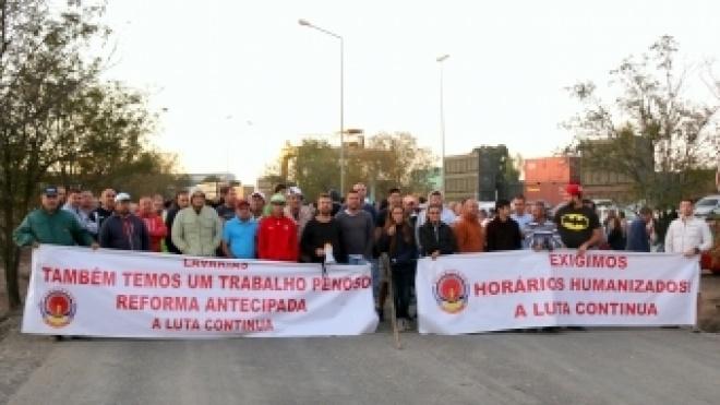 STIM contesta presença da GNR junto ao piquete de greve na SOMINCOR