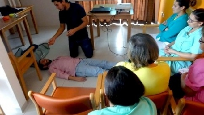 Vidigueira promoveu formação sobre suporte básico de vida