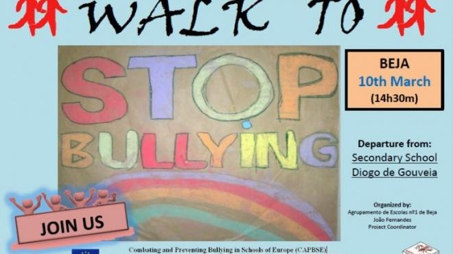 "Caminhada ""Stop Bullying"" em Beja"