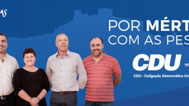 CDU de Mértola apresenta lista de candidatos