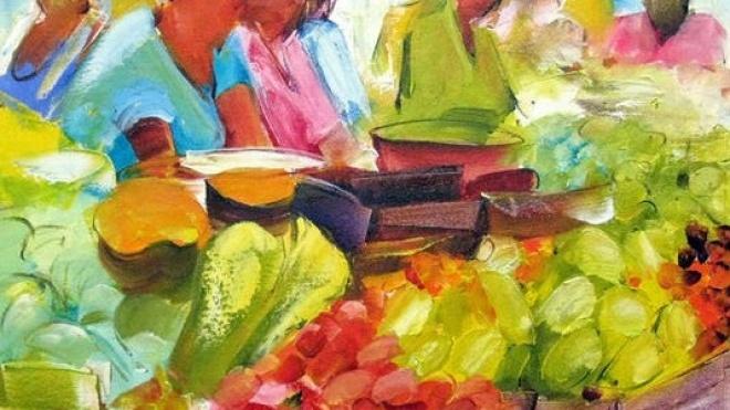 Exposição de pintura de Kiki Lima em Aljustrel