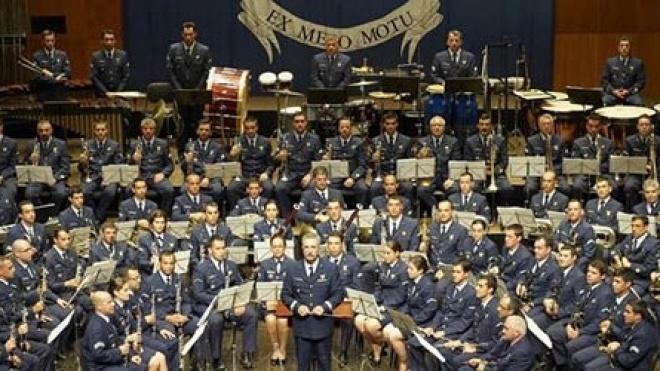 Banda da Força Aérea Portuguesa actua no Pax-Júlia