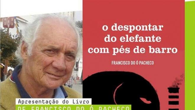 Sextas com livros apresenta livro de Francisco do Ó Pacheco