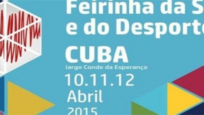 Feirinha da Saúde e do Desporto em Cuba