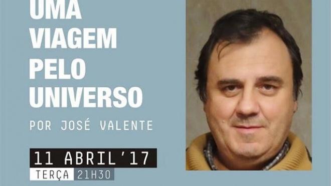 José Valente apresenta uma viagem pelo universo