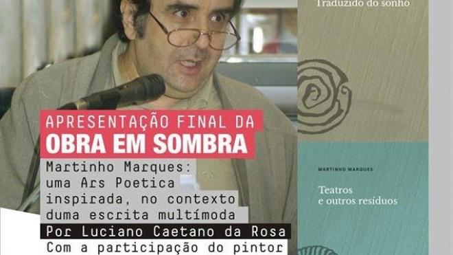"""""""Conversas com B de Beja"""" hoje com Martinho Marques"""