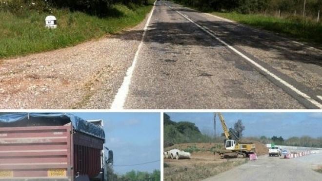 Estradas do concelho de Aljustrel muito degradadas