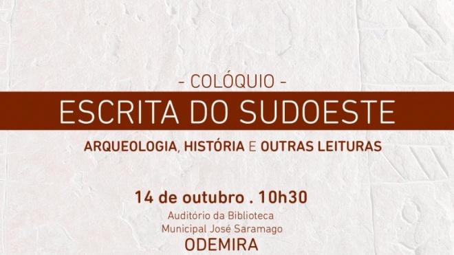 """Odemira recebe colóquio sobre """"A Escrita do Sudoeste"""""""