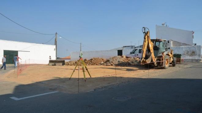 Ferreira do Alentejo apoia obra de requalificação urbana em Alfundão