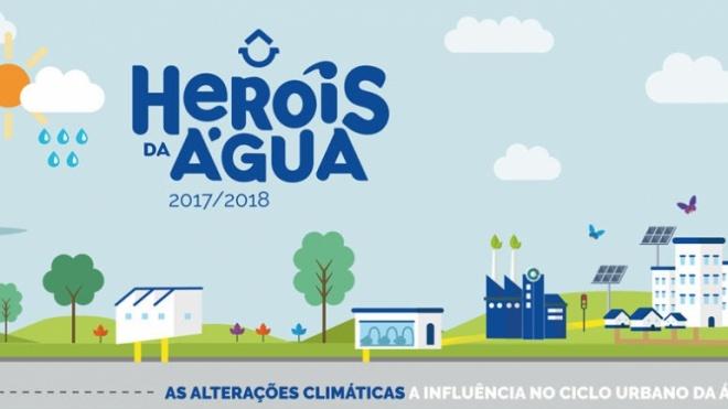 """""""Heróis da Água"""" refletem sobre as alterações climáticas"""