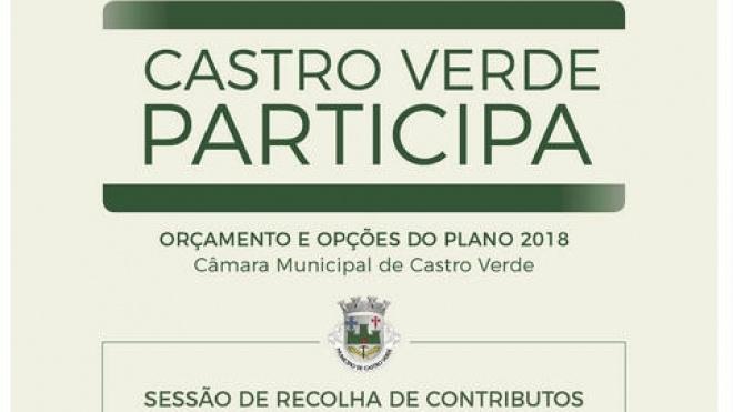 """Autarquia de Castro Verde recolhe """"contributos"""" junto da população"""