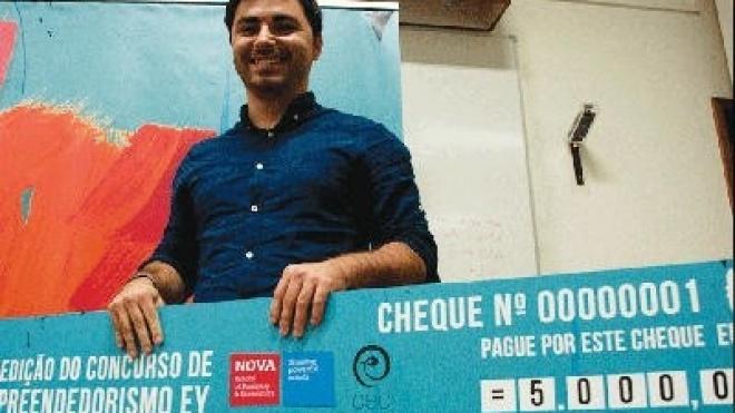 Aluno do IPBeja ganhou concurso de empreendedorismo