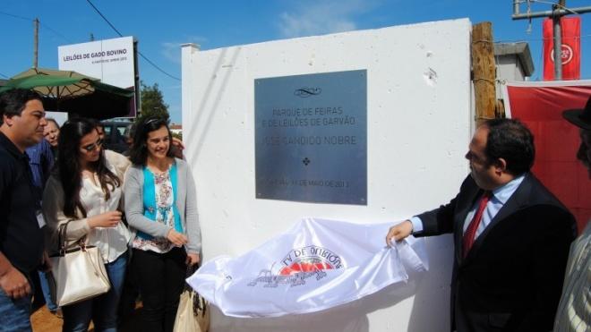 Parque de Feiras e Leilões inaugurado em Garvão