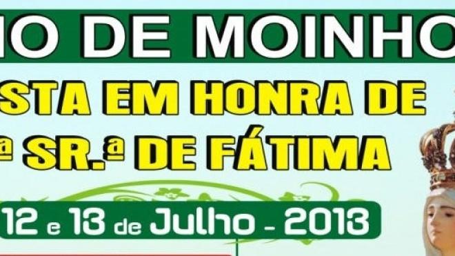 Festa em Honra de Nossa Senhora de Fátima em Rio de Moinhos