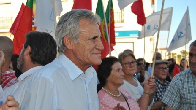 Jerónimo de Sousa no distrito de Beja a 5 de janeiro