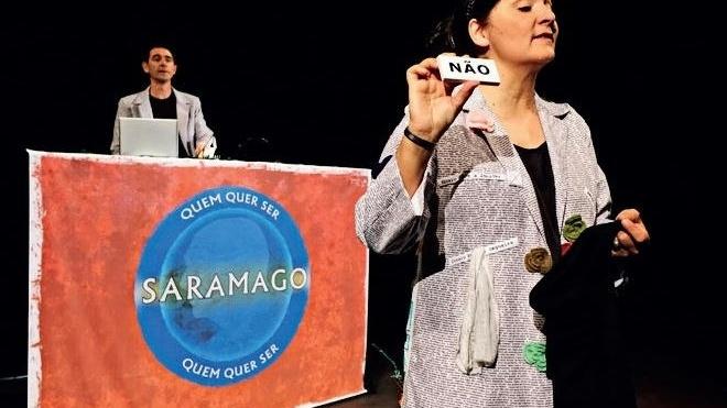 """""""Quem quer ser Saramago?"""" em Castro Verde"""