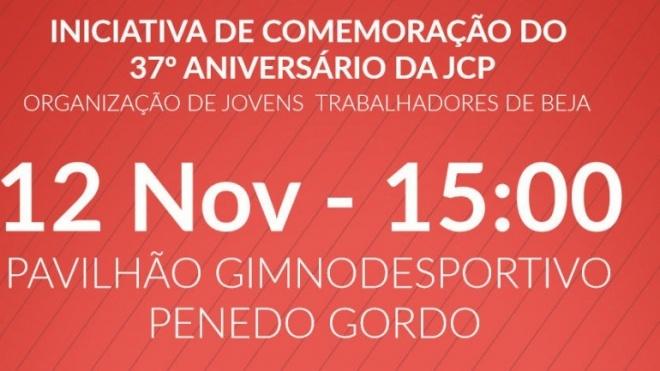 JCP comemora 37º aniversário