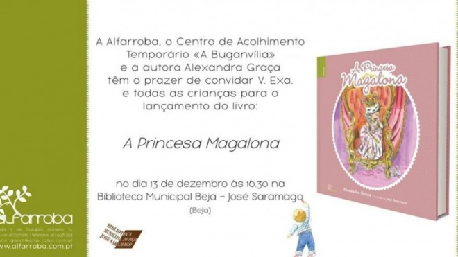 Lançamento de livro em Beja
