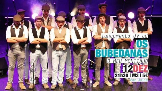 Os Bubedanas apresentam CD em Beja