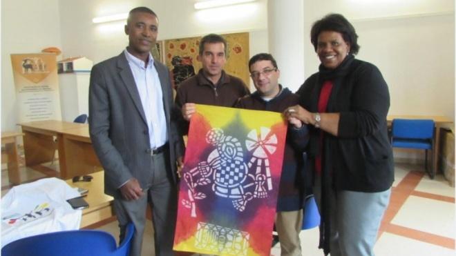 Autarca de Porto Novo (Cabo Verde) visitou ADPM