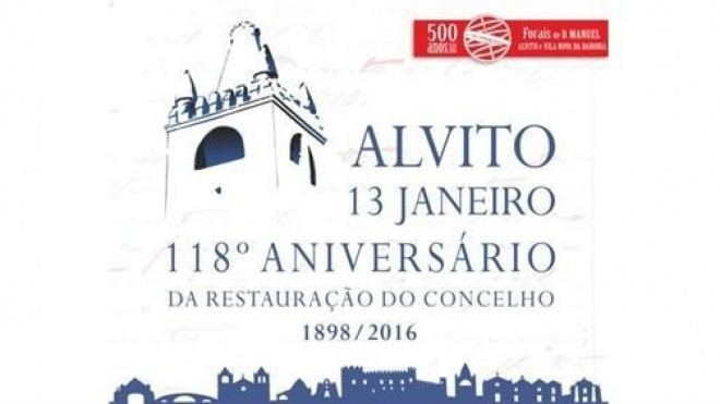 Alvito assinala 118ª aniversário da Restauração do Concelho