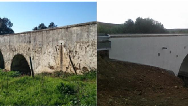 Conclusão dos trabalhos de reabilitação em duas Pontes em Serpa