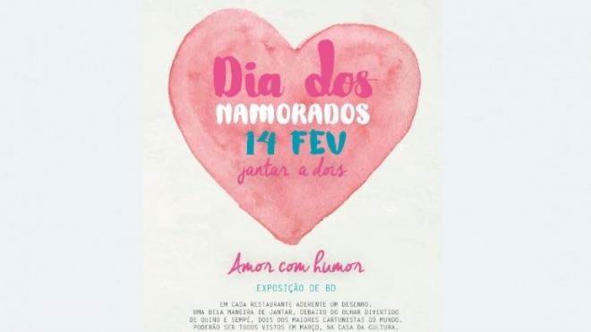 """Restaurantes de Beja celebram o Dia dos Namorados com """"Amor Com Humor"""""""