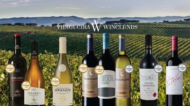 "Vidigueira Winelands brilha no ""Mundus Vini2017"""