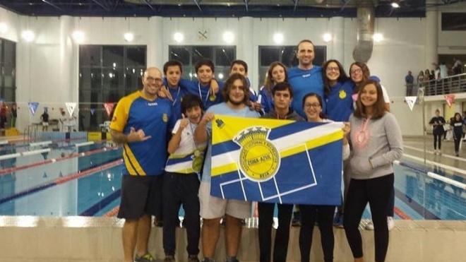 Nadadores Infantis da ACR Zona Azul entre os melhores a nível nacional.