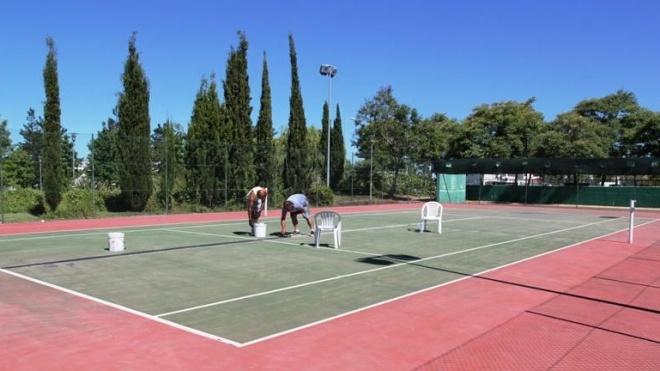 Beneficiação dos campos de ténis de Castro Verde