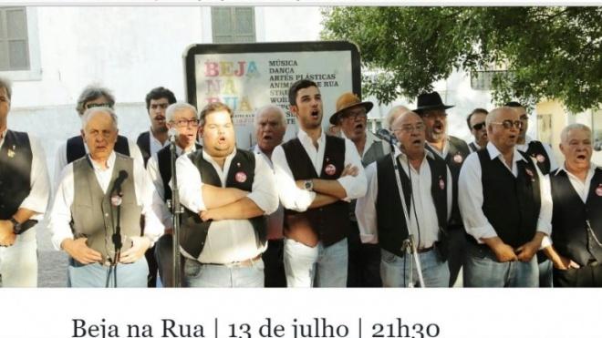 """Cante alentejano em destaque hoje no """"Beja na Rua"""""""
