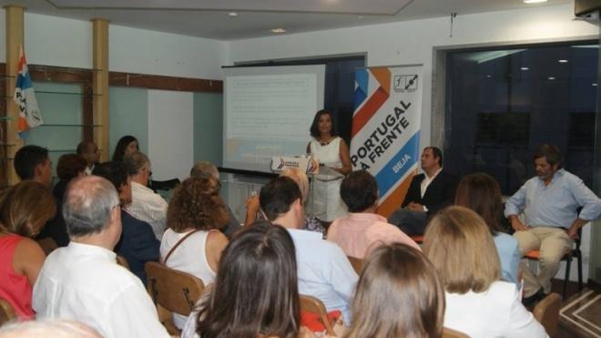 """Nilza de Sena """"mais perto dos centros de decisão"""""""