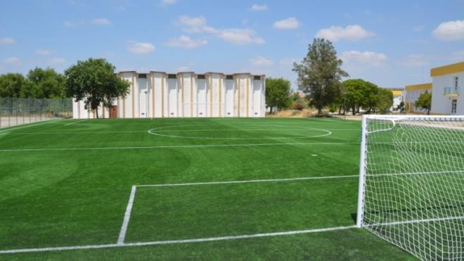 Inauguração de um campo de futebol de 7 em Ferreira do Alentejo