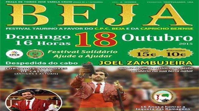 Festival Taurino Solidário com nova data marcada