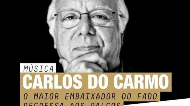 Carlos do Carmo apresenta-se hoje em Beja