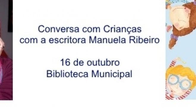 Manuela Ribeiro Conversa com Crianças em Aljustrel
