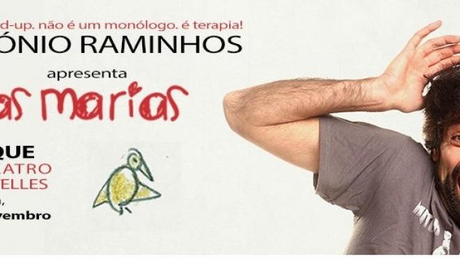 """António Raminhos com """"As Marias"""" em Ourique"""