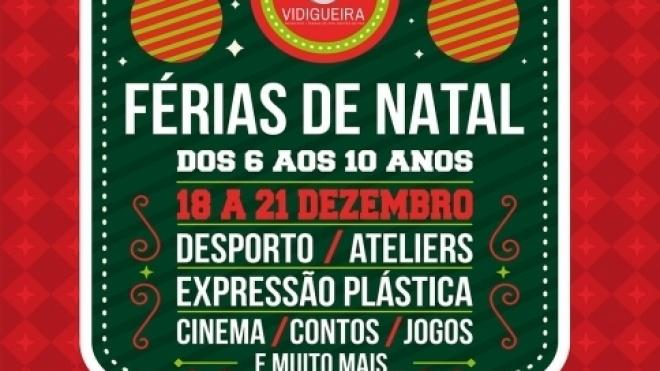 Férias de Natal em Vidigueira com inscrições abertas