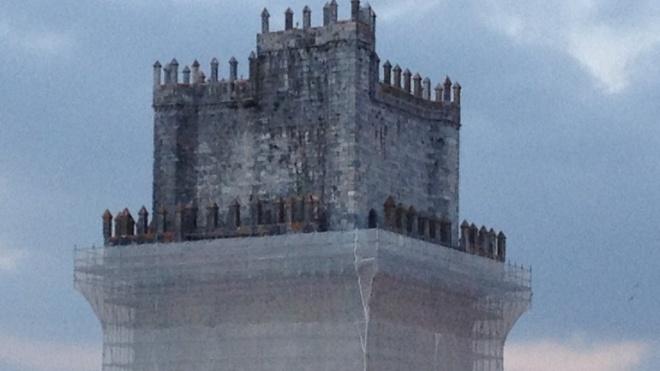 Ana Paula Amendoeira visitou obras do Castelo