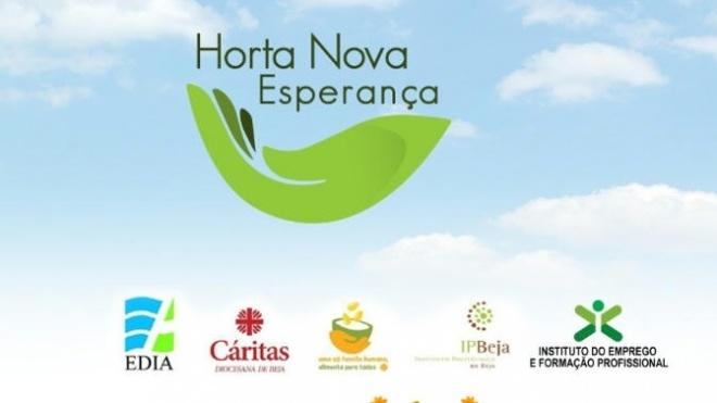 Projeto Horta Nova Esperança capacita e certifica pessoas desempregadas