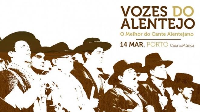 Vozes do Alentejo hoje no Porto