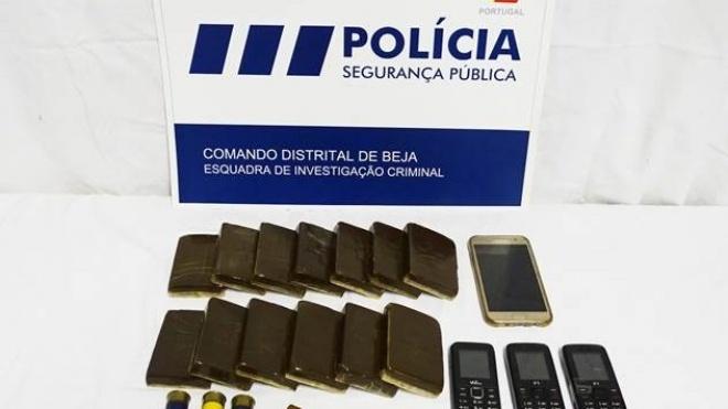 PSP de Beja deteve três pessoas por posse de droga