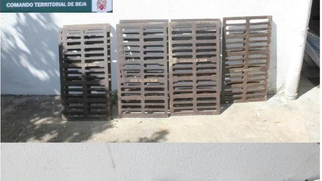GNR de Beja recupera equipamento agrícola e metais preciosos