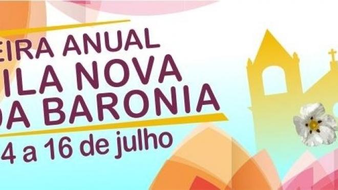 Vila Nova da Baronia está em festa, até domingo, com a realização de mais uma edição da Feira Anual