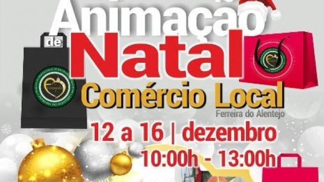 Animação de Natal na Vila de Ferreira do Alentejo