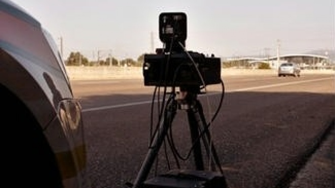 Radares da PSP na Avenida Salgueiro Maia